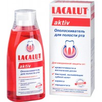 Ополаскиватель рта LACALUT (Лакалут) aktiv 300 мл