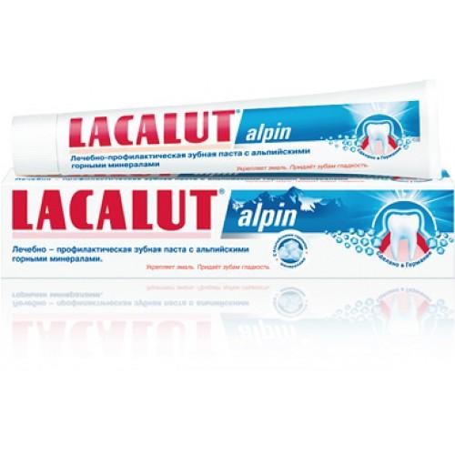 Зубная паста Lacalut alpin 75 мл