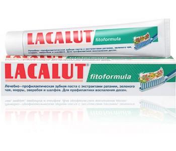 Зубная паста LACALUT (Лакалут) fitoformula