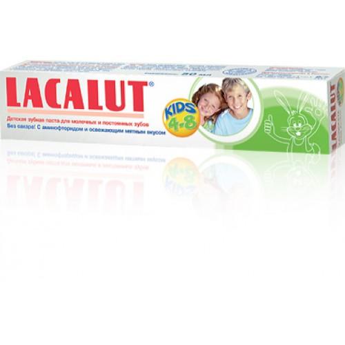 Детская зубная паста LACALUT (Лакалут) kids 4-8 50 мл