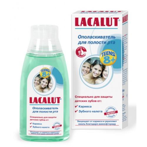 Ополаскиватель для полости рта Lacalut Teens от 8 лет 300 мл