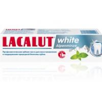 Зубная паста LACALUT white Альпийская мята 75 мл