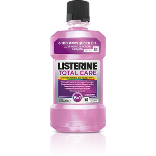 Ополаскиватель рта Listerine Total Care 250 мл