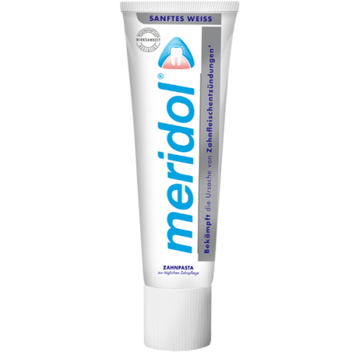 Зубная паста Meridol Sanftes weiss 75 мл