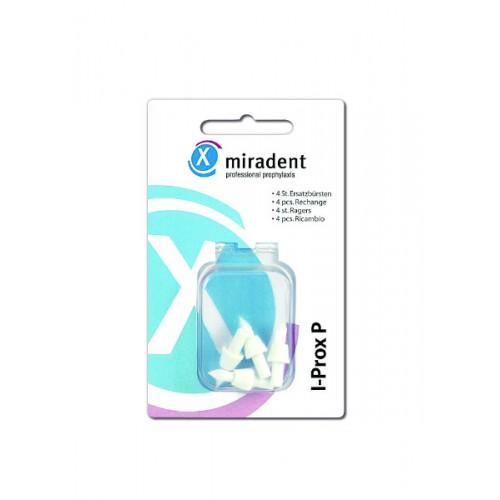 Сменные насадки для монопучковой щетки Miradent I-Prox P 4шт