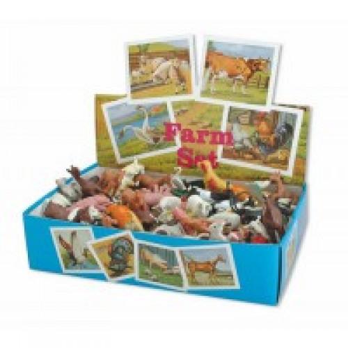 Резиновые игрушки Miradent Домашние животные 100 шт