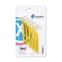 Межзубные ершики Miradent I-Prox L x-fine 0.5 мм желтые