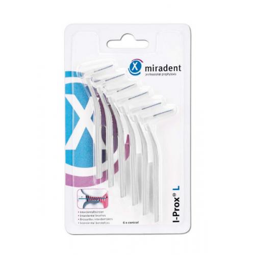 Межзубные ершики Miradent I-Prox L fine 0.6 мм белые