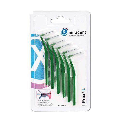 Межзубные ершики Miradent I-Prox L medium 0.7 мм зеленые