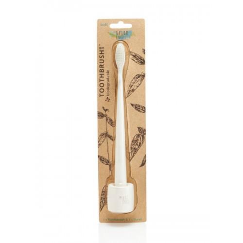 Зубная щетка Nfco Ivory Desert мягкая