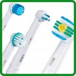 Сменные насадки для электрических зубных щеток Blend-a-med и Oral-B