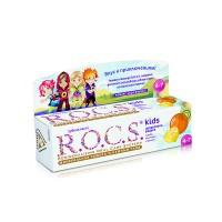 Детская зубная паста Rocs Kids Цитрусовая радуга от 4 до 7 лет 35 мл