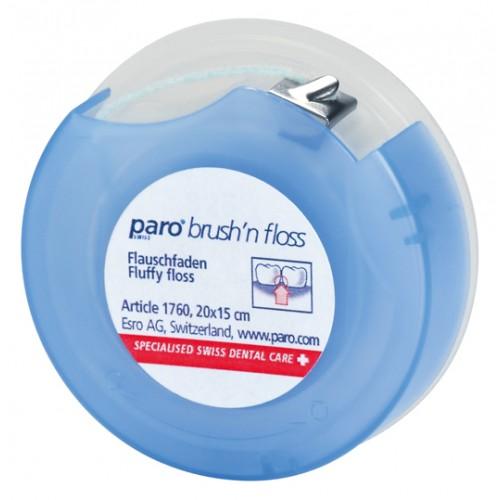 Зубная нить суперфлос paro® Brush'n Floss 20 шт