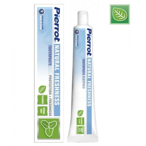 Зубная паста Pierrot Natural Freshness с мятой и фтором 75 мл