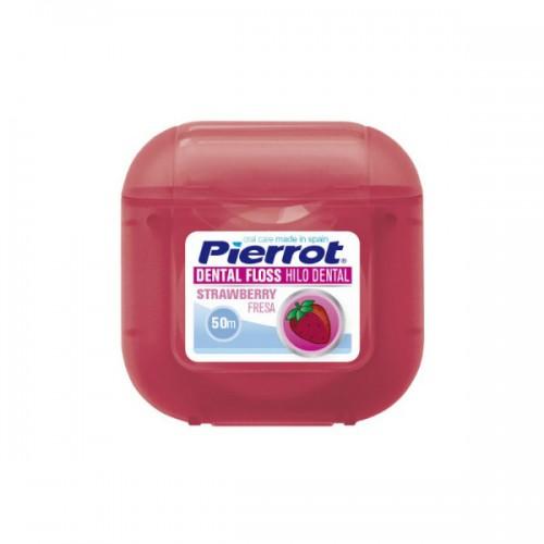 Зубная нить Pierrot Клубника 50 м