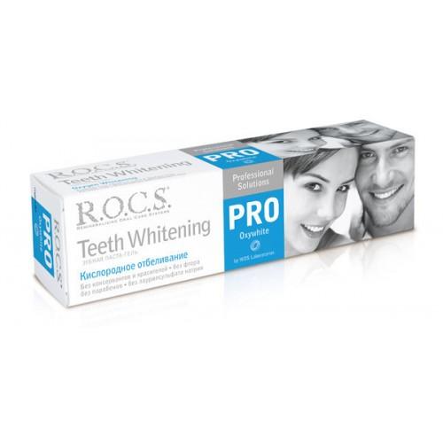 Отбеливающая зубная паста-гель Rocs Pro Кислородное отбеливание 60 мл