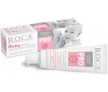 Детская зубная паста ROCS Pro Baby 35 мл
