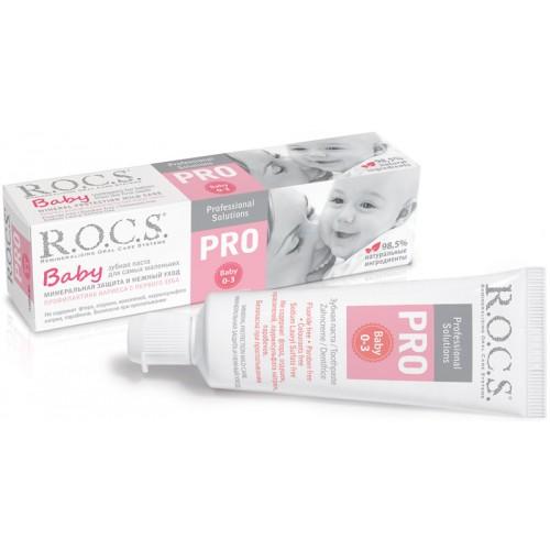 Детская зубная паста Rocs Pro Baby от 0 до 3 лет 35 мл