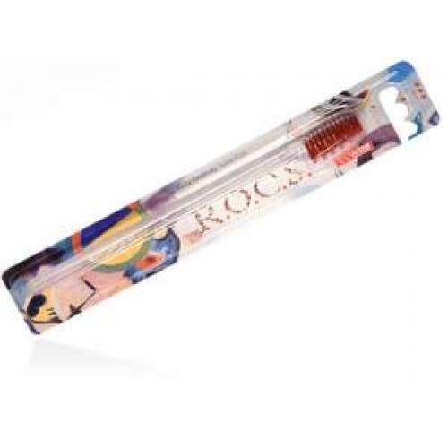 Зубная щетка ROCS классическая жесткая