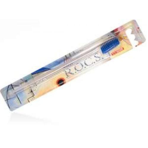 Зубная щетка ROCS классическая мягкая