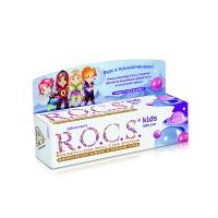 Детская зубная паста ROCS Kids Бабл гам от 4 до 7 лет 35 мл