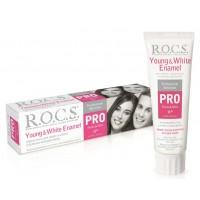 Зубная паста Rocs Pro Young & White Enamel 100 мл