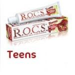Зубная паста для подростков 8-18 лет от R.O.C.S