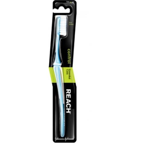 Зубная щетка Reach Control средняя жесткость