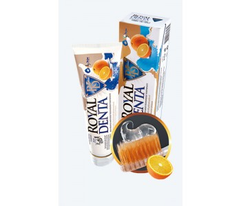 Зубная паста Royal Denta Jeju с золотом и уншиу 130 г