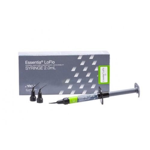 ESSENTIA LoFlo Universal светоотверждаемый композит шприц 3.4 г 20 насадок