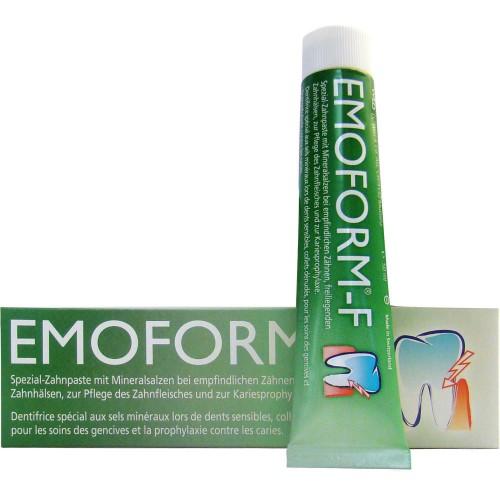 Специальная зубная паста Emoform-F со фтором 85 мл