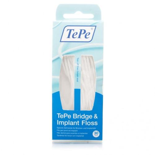 Зубная нить TePe Суперфлосс 30 шт