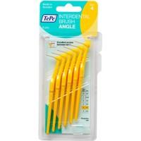 Межзубные ершики угловые TePe Angle 0.7 мм желтые 6 шт