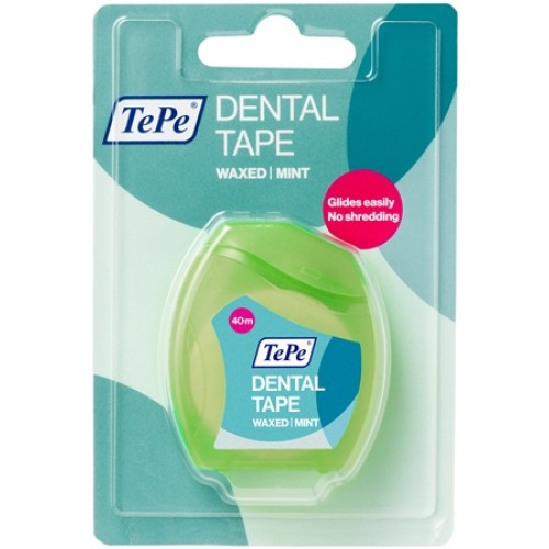 Зубная лента TePe Dental Tape 40м