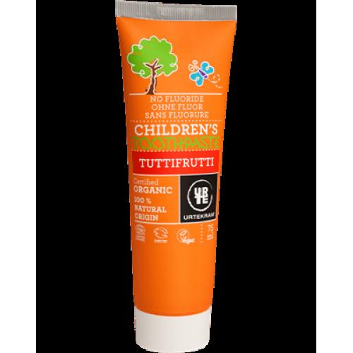 Органическая зубная паста Urtekram TuttiFrutti от 6 лет 75 мл