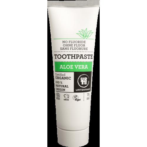 Органическая зубная паста Urtekram Алое Вера 75 мл