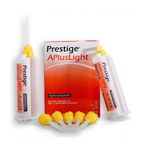 PRESTIGE A Plus-Light корректирующая масса персиковая 2 картриджа по 50 мл + 6 насадок