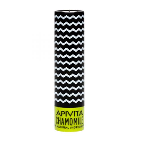 Бальзам для губ Apivita с пчелиным воском и ромашкой 4,4 мл