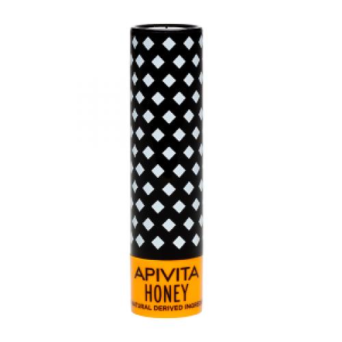 Бальзам для губ Apivita Eco-Bio с пчелиным воском и медом 4,4 мл