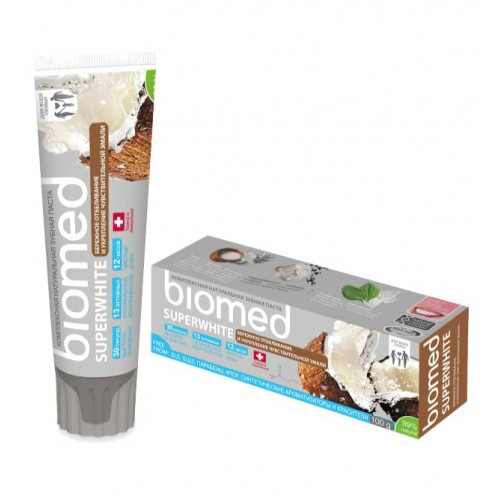 Зубная паста Biomed Superwhite 100 гр