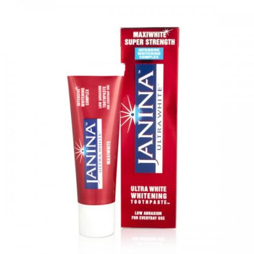 Зубная паста Janina Maxiwhite Супер сила 75 мл