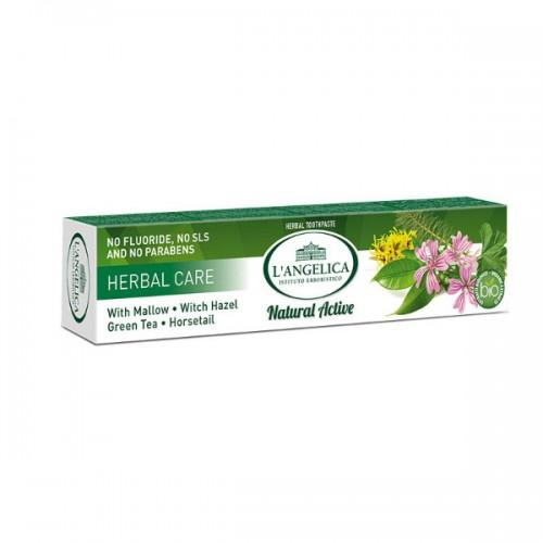Зубная паста L'Angelica Травяной уход 75 мл