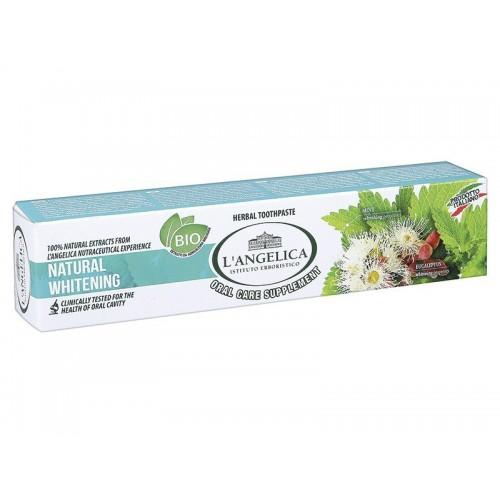 Зубная паста L'Angelica Естественное отбеливание 75 мл