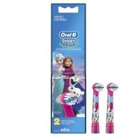 Сменные насадки для детской зубной щетки oral-B Фрозен 2 шт