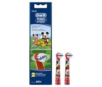 Сменные насадки для детской зубной щетки Oral-B Микки Маус 2 шт
