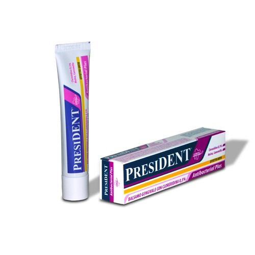 Гель для аппликаций на десна President Antibacterial Profi Clinical 30 мл